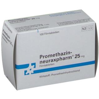 Promethazin neuraxpharm 25 Filmtabletten