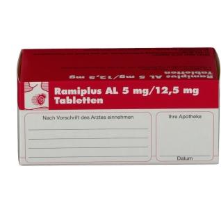 RAMIPLUS AL 5 mg/12,5 mg