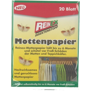 REINEX Mottenpapier