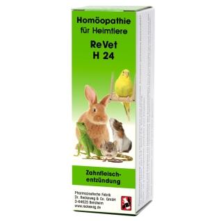 ReVet® H 24 Globuli für Heimtiere
