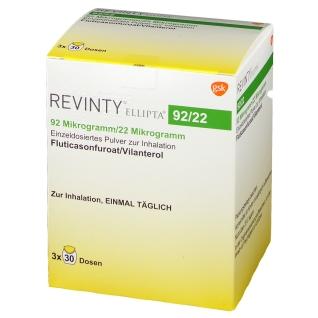 REVINTY Ellipta 92 µg/22 µg einzeld.Plv.z.Inh.30ED