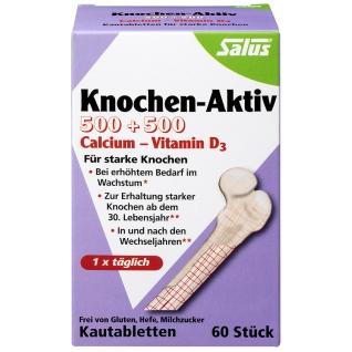 Salus® Knochen-Aktiv 500+500 Calcium-Vitamin D3