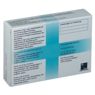 Septolete® 3 mg / 1 mg