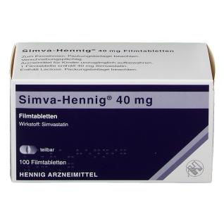 Simva Hennig 40 mg Filmtabl.