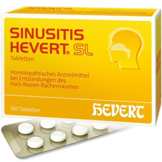 SINUSITIS HEVERT® SL