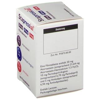 STAPRESSIAL 20 mg/10 mg/5 mg Filmtabletten