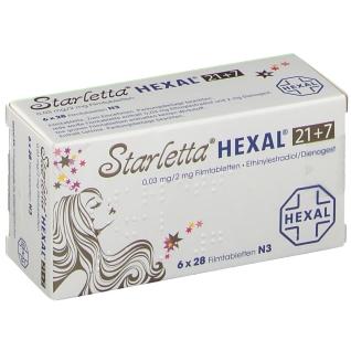 STARLETTA HEXAL 21+7 0,03 mg/2 mg Filmtabletten