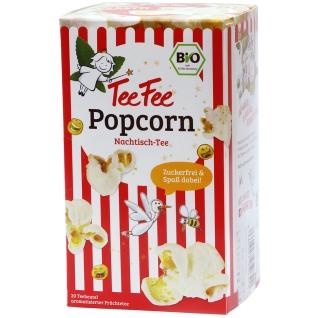 TeeFee Bio Nachtisch-Tee mit Popcorn zuckerfrei