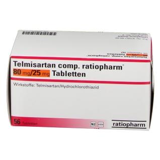 TELMISARTAN CO RAT 80/25