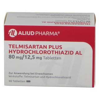 TELMISARTAN Plus HCT AL 80 mg/12,5 mg Tabletten