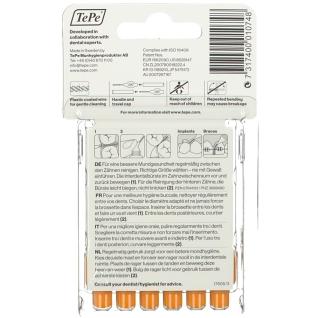 TePe Interdentalbürsten 0,45 - 0,7 mm orange