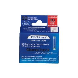 TESTAmed® GlucoCheck Advance Teststreifen