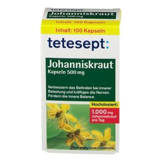 tetesept® Johanniskraut Kapseln