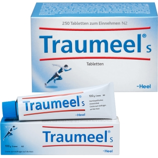 Traumeel® S 250 Tabletten + Traumeel® S 100 g Creme