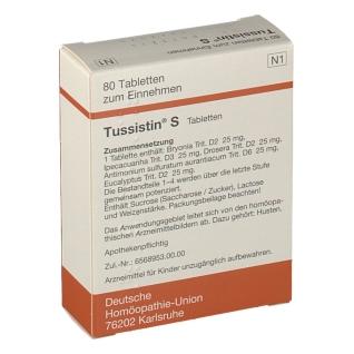 TUSSISTIN S