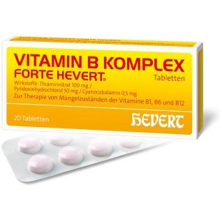 VITAMIN B-KOMPLEX FORTE HEVERT® Tabletten