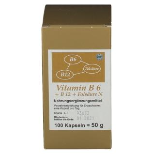 Vitamin B6 + B12 + Folsäure N