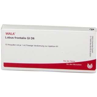 WALA® Lobus frontalis Gl D 6