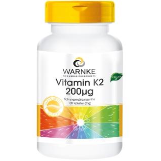 WARNKE Vitamin K2 200 µg