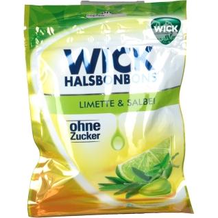 WICK Limette & Salbei ohne Zucker