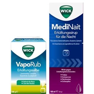 WICK Set MediNait + VapoRub