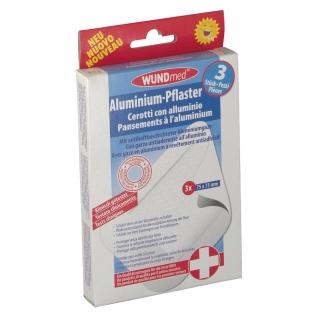 WUNDmed® Aluminium-Pflaster 75 x 75 mm