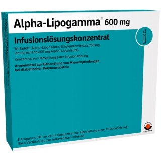 Alpha-Lipogamma® 600 mg