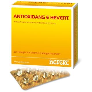 ANTIOXIDANS E HEVERT® Weichkapseln