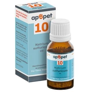 apopet® Schüßler-Salz Nr.10 Natrium sulfuricum D6 vet.
