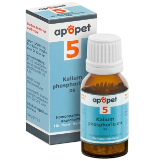 apopet® Schüßler-Salz Nr.5 Kalium phosphoricum D6 vet.