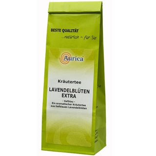 Aurica® Lavendelblüten Tee Extra