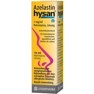 Azelastin hysan® 1mg/ml Nasenspray