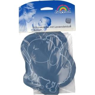Baby-Frank® Wärmekissen Schaf mit Moorgel und Lavendelduft