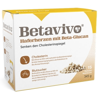Betavivo® Haferherzen mit Beta-Glucan
