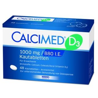 CALCIMED® D3 1000mg / 880 I.E. Kautabletten