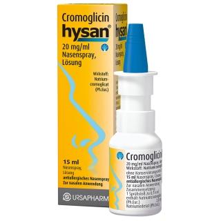 Cromoglicin hysan® Nasenspray
