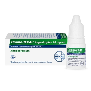 CromoHEXAL® Augentropfen, 20 mg/ml