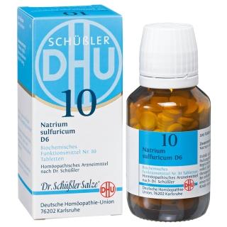 DHU Biochemie 10 Natrium sulfuricum D6