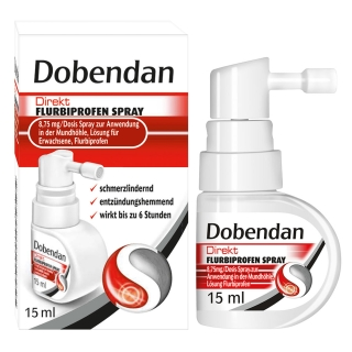 Dobendan® Direkt Flurbiprofen Spray 8,75 mg/Dosis