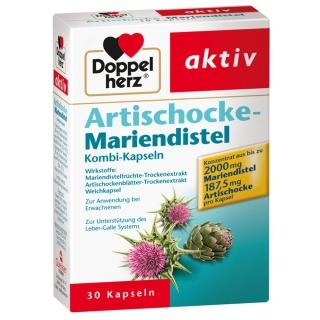 Doppelherz® aktiv Artischocke-Mariendistel