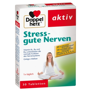 Doppelherz® aktiv Stress - Gute Nerven Tabletten
