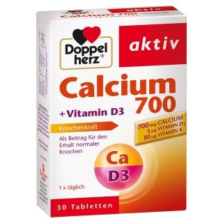 Doppelherz Calcium 700 + D3