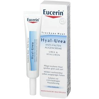 Eucerin® Hyal-Urea Anti-Falten Augencreme
