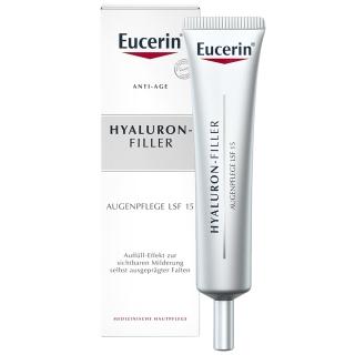 Eucerin® HYALURON-FILLER Intensiv Falten-Auffüllende Augenpflege + Anti-Age Set GRATIS