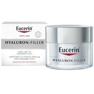 Eucerin® HYALURON-FILLER Tagespflege für trockene Haut + Anti-Age Set GRATIS
