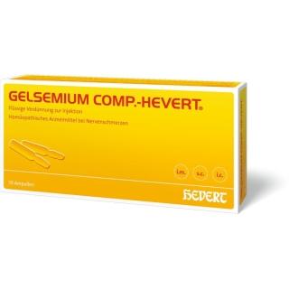 GELSEMIUM COMP.-HEVERT® Ampullen