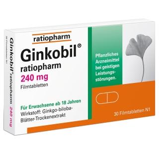 Ginkobil® ratiopharm 240 mg