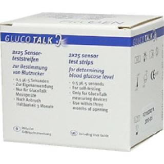 Gluco Talk BZ-Streifen