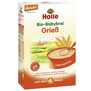 Holle Bio-Babybrei Grieß