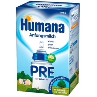 Humana Anfangsmilch PRE GOS + LCP
